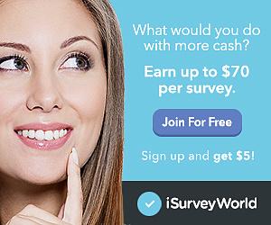 Join iSurvey World - Earn Money