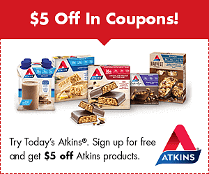 FREE Atkins Quick-Start Kit and $5 Off