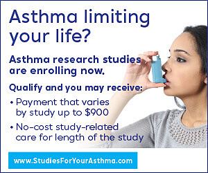 Get Paid to Participate in Asthma Medical Study