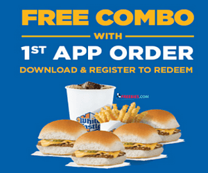 Free Fast Food at White Castle