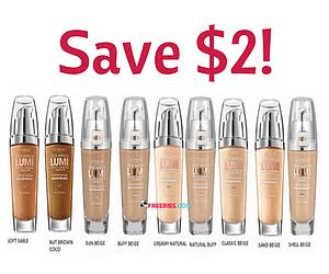 Save $2.50 off a L'Oréal True Match Foundation