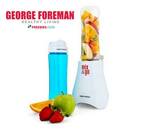 Win a George Foreman Mix and Go Blender