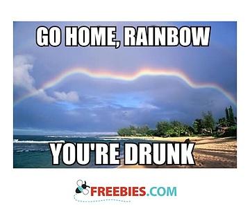 Go Home Rainbow