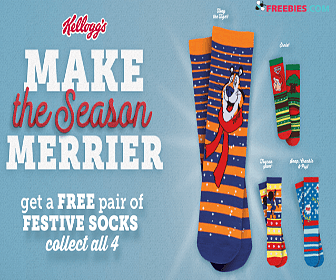 Free Socks with Kellogg's Purchase