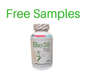 Free Nutritional Supplements Samples
