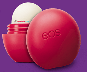 Free EOS Lip Balm with Purchase