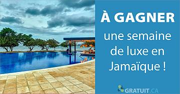 Gagnez une semaine de luxe en Jamaïque