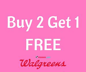 Buy 2 Get 1 Free Makeup Sale at Walgreens