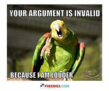Argument Invalid