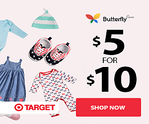 Get Cash Back and Coupons from Butterfly