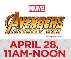 Free Avengers Pin at JCPenney