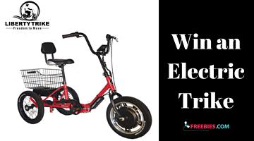 Win an Electric Trike