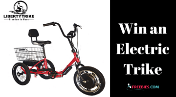 Win an Electric Trike