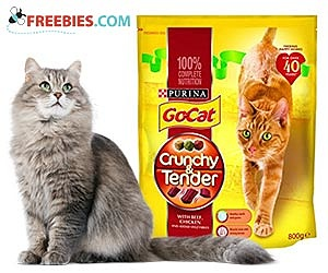 Free Purina Go Cat Crunchy & Tender