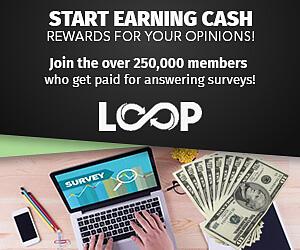 Earn Cash Online with Loop Surveys