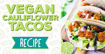 Vegan Cauliflower Tacos