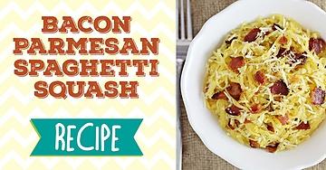 Bacon Parmesan Spaghetti Squash