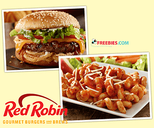 Free Red Robin Appetizer With Purchase