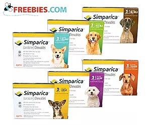 Simparica Flea Protection For Dogs Sample