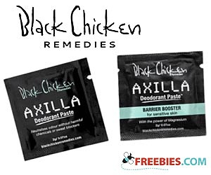 Free Sample of Axilla Natural Deodorant