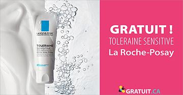 Échantillon gratuit d'hydratant Toleriane Sensitive de La Roche-Posay