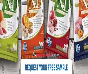Free Pet Food Samples from Farmina