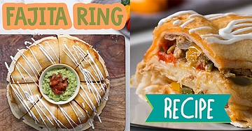 Chicken Fajita Ring