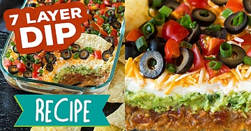 The Best 7 Layer Dip