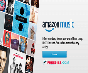 Free Trial of Amazon Prime Music