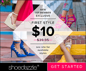 Get Shoes for Only $10 at ShoeDazzle