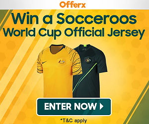 Win an Official Socceroos Jersey