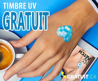 Gratuit timbre UV La Roche-Posay