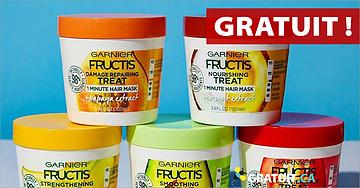 GRATUIT Échantillons Garnier FructisHair Treats