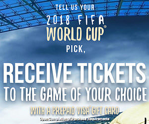 Win Free FIFA Tickets