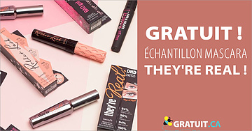 Échantillons de produits de beauté Benefit gratuits