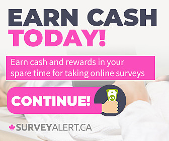 Earn  up to $10/Survey with SurveyAlert.ca