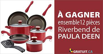 Gagnez un ensemble Paula Deen Riverbend de 12 pièces