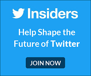 Become a Twitter Insider