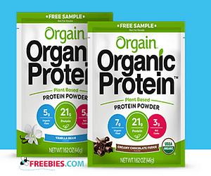 Free Organic Protein Powder