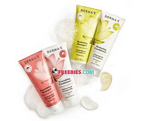 Free Derma E Shampoo & Conditioner Samples