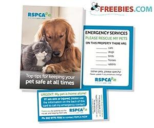 Free RSPCA Pet Safety Kit