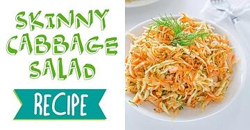 Skinny Cabbage Salad