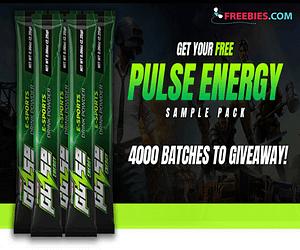 Free Pulse Energy Drink Sample