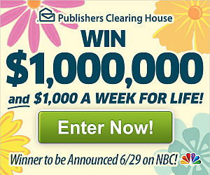Win up to $1,000,000!
