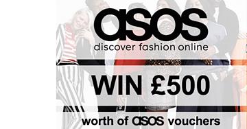 Win a £500 ASOS Voucher