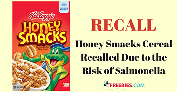 Food Recall: Kellogg's Honey Smacks Cereal