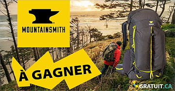 Gagnez un sac à dos Mountainsmith Scream 55 Hiking Backpack