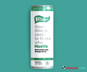 Free 'Hustle' Energy Drink From MatchaBar