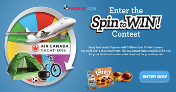 Win $1,500 Worth of Prizes with Toffifee