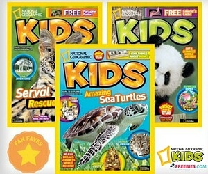 Free National Geographic Kids Magazine